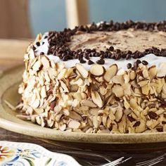 Marvelous Cannoli Cake Recipe from Taste of Home -- shared by Antoinette Owens of Ridgefield, Connecticut