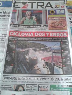 Notícias e flagrantes do Rio de Janeiro by Gilson Eletricista: Os 7 sinistros erros na Ciclovia Tim Maia