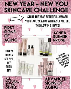 Usher in the new year with an amazing new skincare regiment! Contact me today to pamper your skin! PLUS ENJOY 20% OFF MY ENTIRE SITE.  www.marykay.com/nbryant2022  #mymklife #teammk