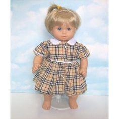 "Plaid Dress. Fits 15"" Dolls like Bitty Baby® and Bitty Twin® (Toy)  http://www.amazon.com/dp/B004UT4G7U/?tag=goandtalk-20  B004UT4G7U"