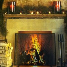 MANTEL DECORATIONS On Pinterest Christmas Mantels Mantels And