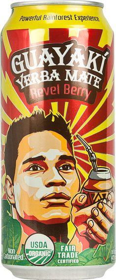 Guayaki Organic Yerba Mate Revel Berry