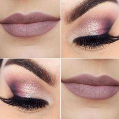Pink make up Makeup Trends, Makeup Inspo, Makeup Art, Beauty Makeup, Cute Makeup, Pretty Makeup, Simple Makeup, Wedding Hair And Makeup, Bridal Makeup