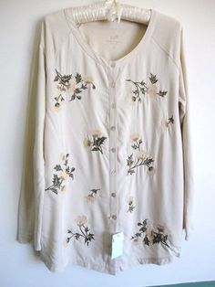 d0c3384023052b Jill Women s petite Long Sleeve Sleeve Button Down Tops   Blouses