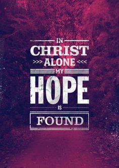 In Christ Alone Psalm 91:1