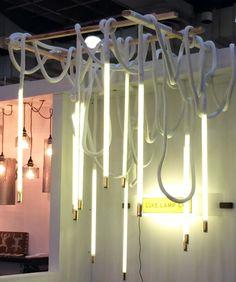 massive chandelier by Luke Lamp Co.