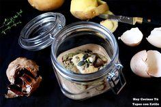 Hoy Cocinas Tú: Crema de patata y ajo negro con boletus salteados y salsa de huevo frito