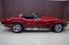 '69 Vette Stingray Roadster | Dream car!