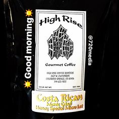 Happy Saturday to you! It's a beautiful snow covered day here in #Colorado. If you have a question feel free to use our Live Chat. www.720media.com We're trying this #CostaRican from Highrise #coffeeroasters and loving it. Just the fuel we need to get the day started. If you get a chance to visit this #locallyowned business on the #westside do so. Impressive!#cosprings #coloradolove #organic #oldcoloradocity #shoplocal #instamarketing #720media #coffeelover #coffeegram #smallbusiness…