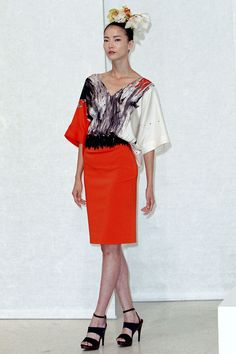 Josie Natori Spring 2013 Ready-to-Wear Collection Photos - Vogue