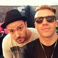 JT & Macklemore. These two in ONE picture. I just gotta pin this!
