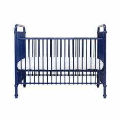 Chloe Crib from Project Nursery Boys Bedroom Colors, Boys Bedroom Decor, Best Baby Cribs, Affordable Furniture Stores, Blue Crib, Shabby Chic Bedroom Furniture, Project Nursery, Nursery Ideas, Furniture Assembly