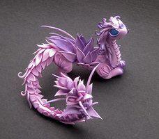 Wild Flower Dragon by MyOwnDragon