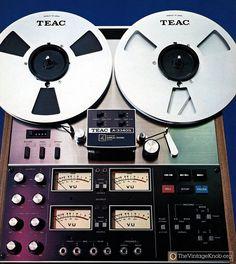 occultronic: uue-euu: TEAC I didn't. Recording Equipment, Audio Equipment, Radio Vintage, Studio Gear, Tape Recorder, High End Audio, Hifi Audio, Boombox, Audio System