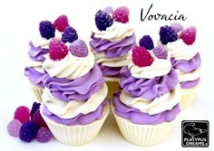 Gorgeous Soap Cupcakes! These would be great for shower favors!