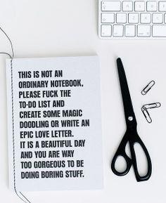 Via Beeldsteil | Therese Sennerholt Notebook | HAY Scissors