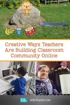 Creative Ways Teachers Are Building Classroom Community Online. Starting remote learning by creating classroom community online will set you and your students up for success. It feels like September all over again. Building Classroom Community, Class Pet, Creating Communities, Responsive Classroom, Online Classroom, First Grade Teachers, Bilingual Education, Social Emotional Learning, Google Classroom