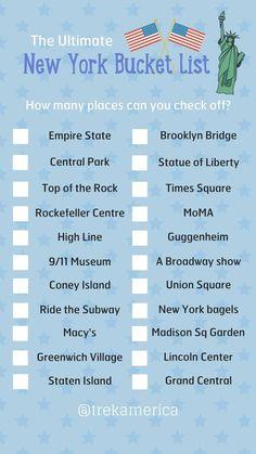 Nyc bucket list new york vacation, new york city travel, vacation trips, vacations New York Tourist, New York City Vacation, New York City Travel, Voyage Usa, Voyage New York, Themed Restaurants In Nyc, New York Weihnachten, New York Bucket List, New York Bagel