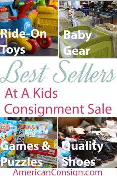 Want to make money selling at a Kids Consignment Sale? This post discusses the best selling categories at Kids Consignment Sale Events.
