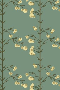 """Snowberries"" by Wordofmouse. To have a colourlovers pattern printed on fabric, go to http://www.colourlovers.com/store/fabric"