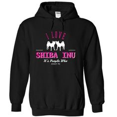 I Love SHIBA INU  , Its People Who Annoy Me - CC T-Shirt Hoodie Sweatshirts iie