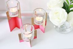 Balsa Wood Candle Holder | Easy Wooden Projects for Kids | Crafts for Girls | DIY Projects