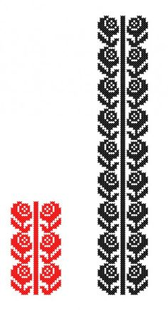 Flower Embroidery Designs, Folk Embroidery, Embroidery Patterns Free, Cross Stitch Patterns, Machine Embroidery, Celtic Cross Stitch, Cross Stitch Rose, Cross Stitch Samplers, Palestinian Embroidery