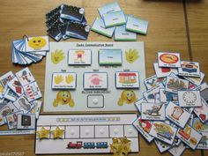 Personal Communication Pecs, full pack includes all items & Personalised~ Autism