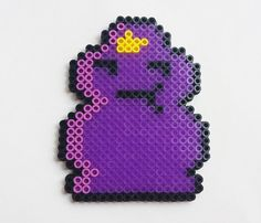 Lumpy Space Princess Perler Charm Pendant by PlanetRainbow on Etsy, $5.00
