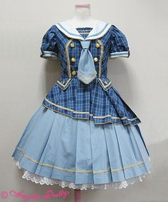 Angelic Pretty Tartan Holic OP (I wish this came in Sax x Pink! It would be so cute!)