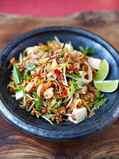 Prawn and Tofu Pad Thai