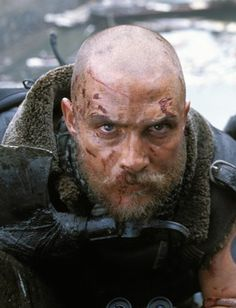 Matthew McConaughey in Reign of Fire. Well Matthew certainly became crazy for this one.(went full nut)