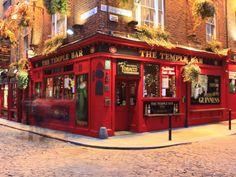 Temple Bar. Dublin.