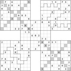 Jigsaw Sudoku | For Papa | Pinterest
