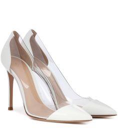mytheresa.com - Pumps Plexi aus Lackleder - Luxury Fashion for Women / Designer clothing, shoes, bags