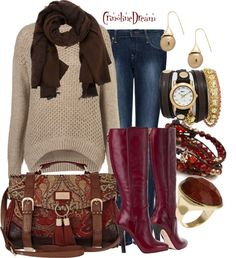 """""""Brownberry"""" by crinolinedream on Polyvore"""