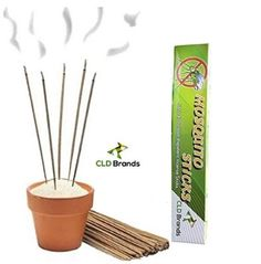 cool CLD Brands Mosquito Repellent Sticks - Natural Outdoor Incense - Deet Free - Non-Toxic - For Sale Check more at http://shipperscentral.com/wp/product/cld-brands-mosquito-repellent-sticks-natural-outdoor-incense-deet-free-non-toxic-for-sale/
