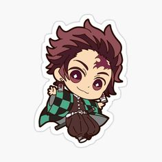Kimetsu No Yaiba stickers featuring millions of original designs created by independent artists. Cartoon Stickers, Tumblr Stickers, Kawaii Stickers, Cute Stickers, Anime Drawings Sketches, Cute Drawings, Anime Kawaii, Anime Chibi, Fan Art Anime