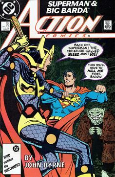 Chris is on Infinite Earths: Action Comics #592 (1987)