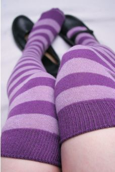 Purple Knees