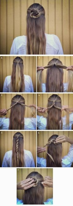 Half Up Rose Braided Bun Hairstyle Tutorial ~ Calgary, Edmonton, Toronto, Red Deer, Lethbridge, Canada Directory