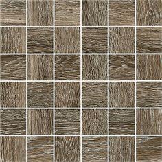 #Cerdisa #Steam Wood #Mosaik 5x5 Reddish Brown Pr 30x30 cm 58063 | Feinsteinzeug | im Angebot auf #bad39.de 73 Euro/qm | #Mosaik #Bad #Küche