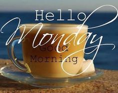 Have a blessed morning! Tell us how your weekend was! ☕️ #mondayblessed #letdothedarnthing