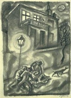 "George Grosz, ""Attack,"" 1915"