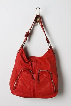 Chris Kon's Crimson Hobo Is The Perfect On-the-go Bag – Just Toss In Keys, Sunscreen, Your Red Dot Jambox, And You're Set! - Click for More...
