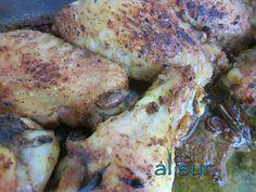 alitas de pollo a la moruna