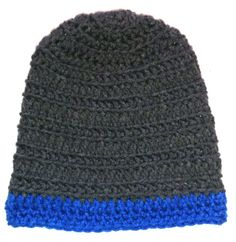 Backloop Madness Crocheted Beanie Kids size Small Ages 5- 8