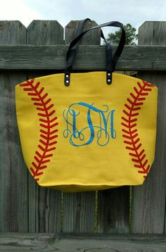Check out this item in my Etsy shop https://www.etsy.com/listing/385012412/softball-tote-personalized-softball-tote