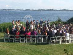 Outdoor ceremony at Misselwood - Music by DM Productions Boston Wedding Venues, Greater Boston, Boston Area, Wedding Photos, Wedding Ideas, Outdoor Ceremony, Dj, Dolores Park, Music
