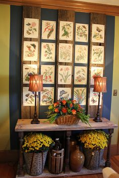 Itsy Bits and Pieces: The Bachman's Fall Ideas House 2011